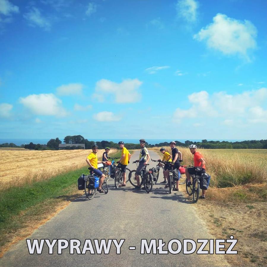 Obozy rowerowe mlodziez