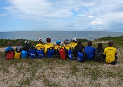 Bornholm zachodnie wybrzeże cała ekipa MLSPORT