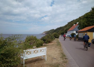 Bornholm zachodnie wybrzeże