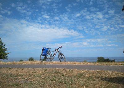 Bornholm północne wybrzeże rower