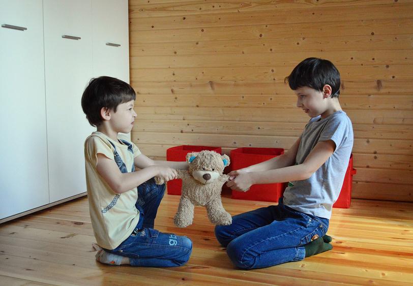 Jak rozwiązywać konflikty pomiędzy dziećmi