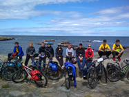 Obozy rowerowe młodzież wybrzeże Bałtyku
