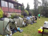 Rowerowy obóz dla dzieci i młodzieży Mazury
