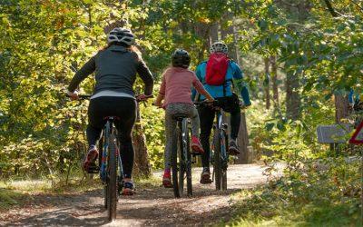 3 najbardziej atrakcyjne miejsca na wyprawy rowerowe z dziećmi