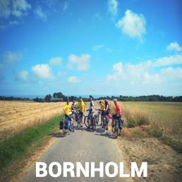 Obóz rowerowy dla dzieci i mlodzieży Bronholm