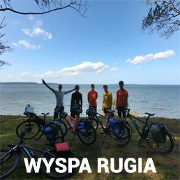 Obóz rowerowy dla dzieci i młodzieży Rugia
